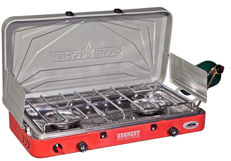 Portable stove - Camp Chef Everest 2 Burner Stove